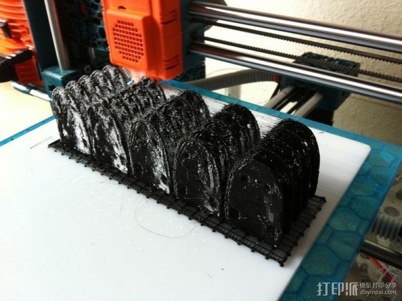 鳞片盔甲 3D模型  图5