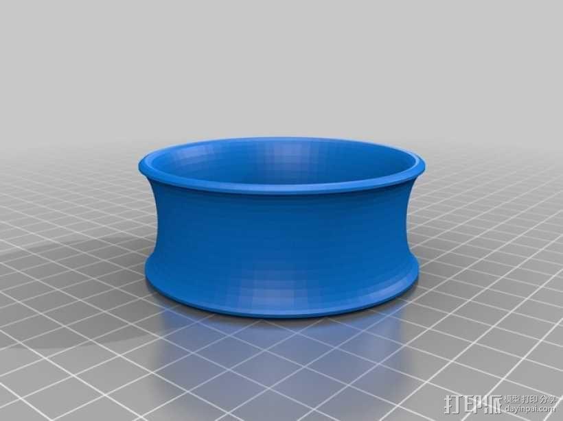 凹面手镯 3D模型  图1