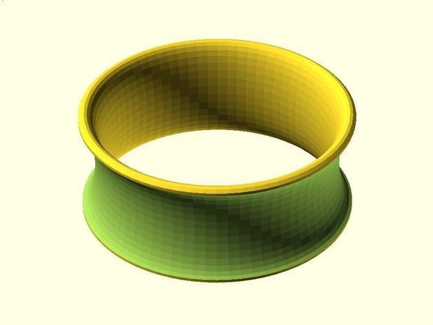 凹面手镯 3D模型  图2