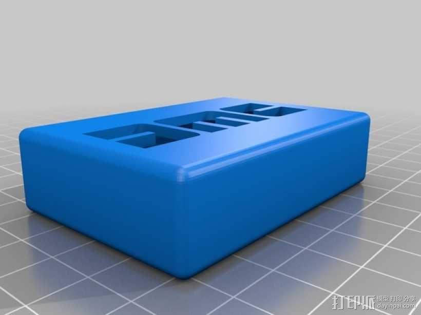 DMC盒子 3D模型  图1