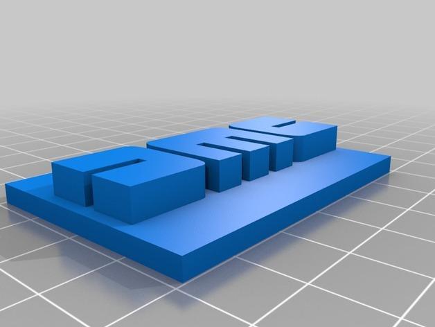 DMC皮带 3D模型  图2