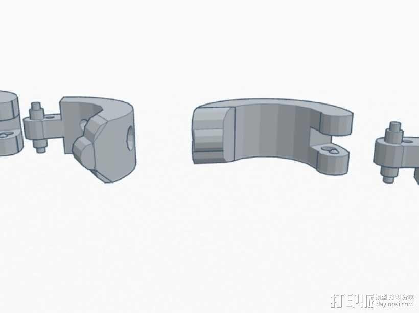 卡箍式耳环 3D模型  图8