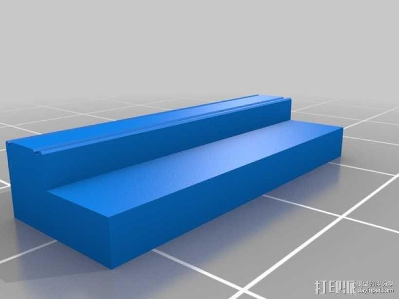 弹簧钥匙架  3D模型  图1