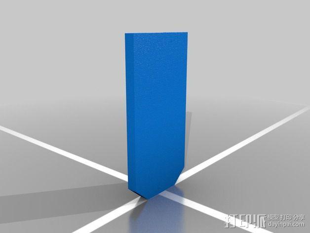 弹簧钥匙架  3D模型  图6