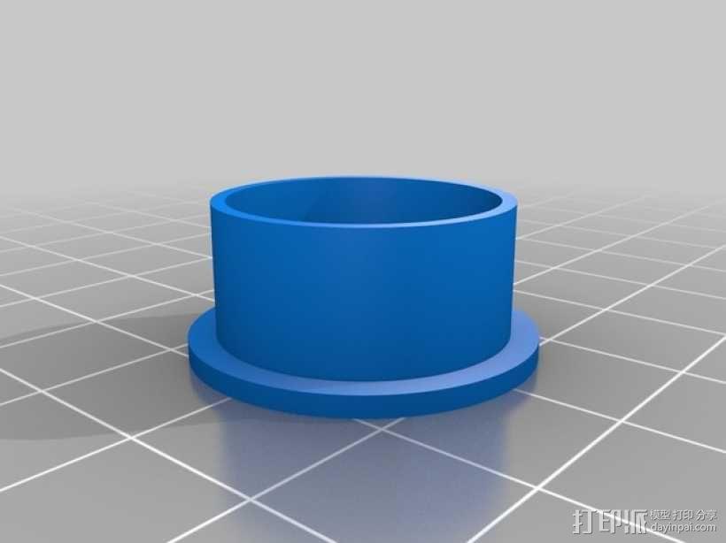 纺纱环 戒指 3D模型  图4