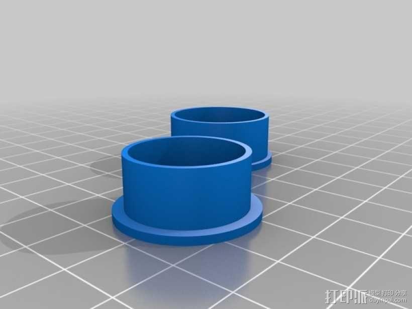 纺纱环 戒指 3D模型  图5