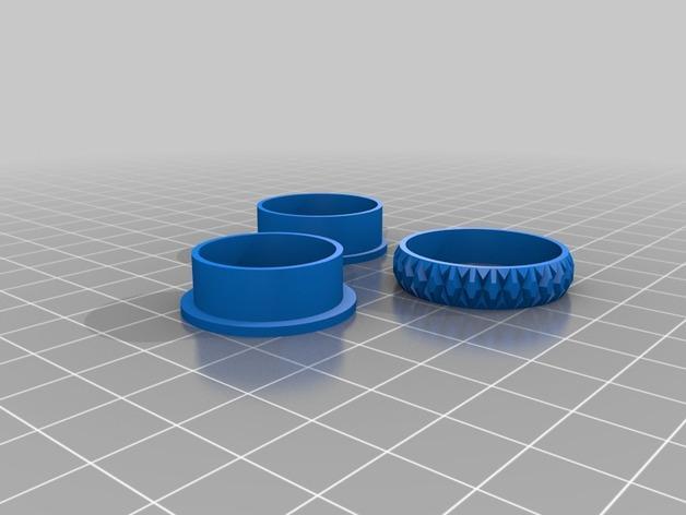 立体几何 戒指 3D模型  图2