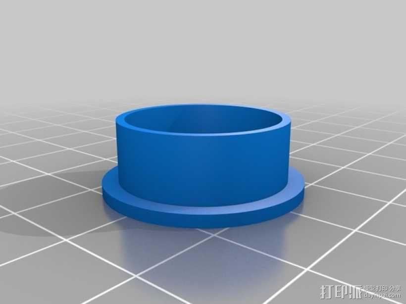 几何雕花 戒指 3D模型  图4