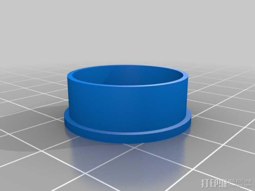 几何雕花 戒指 3D模型  图5
