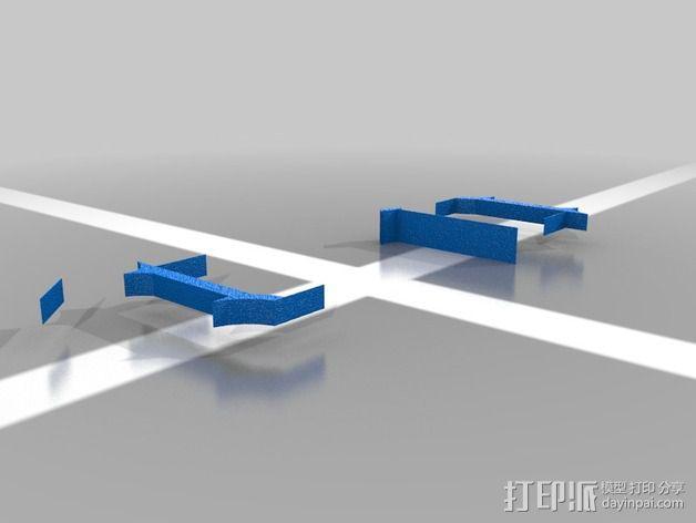 Connor字母模型 3D模型  图1