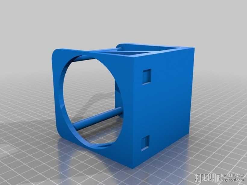 婴儿车杯架 杯托 杯座 3D模型  图1
