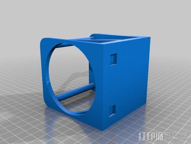 婴儿车杯架 杯托 杯座 3D模型  图2