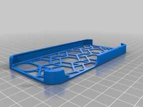 镂空几何iPhone 手机套 3D模型
