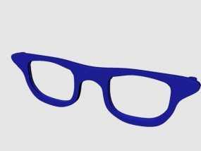 CALGARA HOND眼镜 3D模型