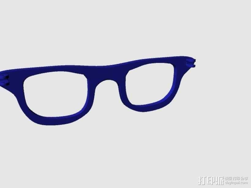 CALGARA HOND眼镜 3D模型  图3