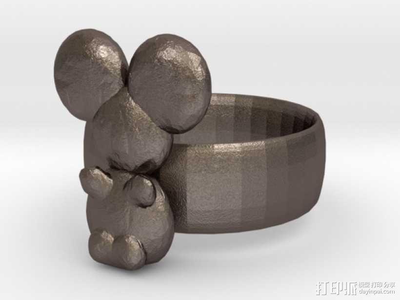 考拉戒指 3D模型  图1