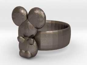 考拉戒指 3D模型