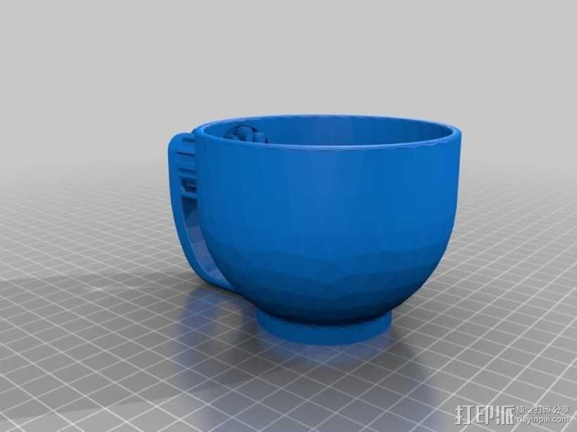 小茶杯 3D模型  图1