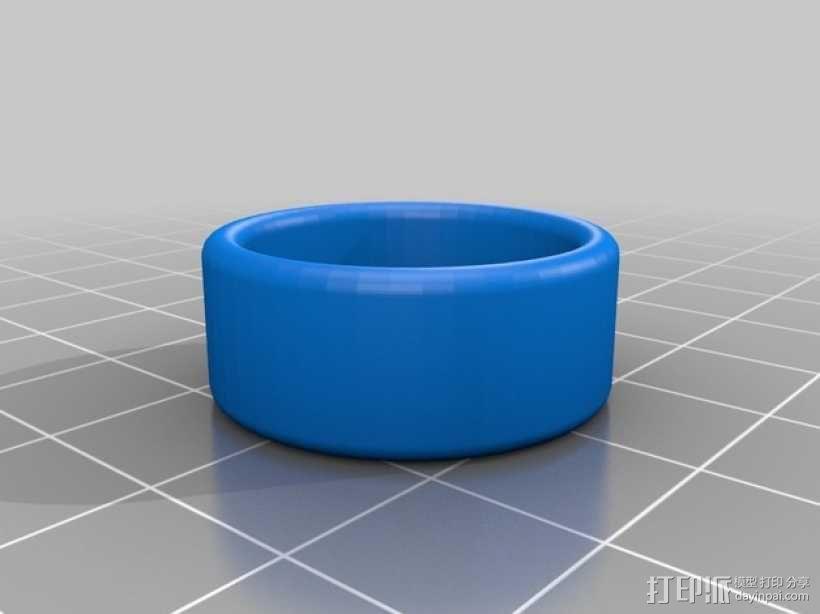 婚礼戒指 3D模型  图1