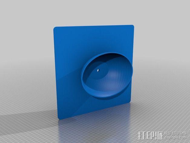 学士帽 3D模型  图1