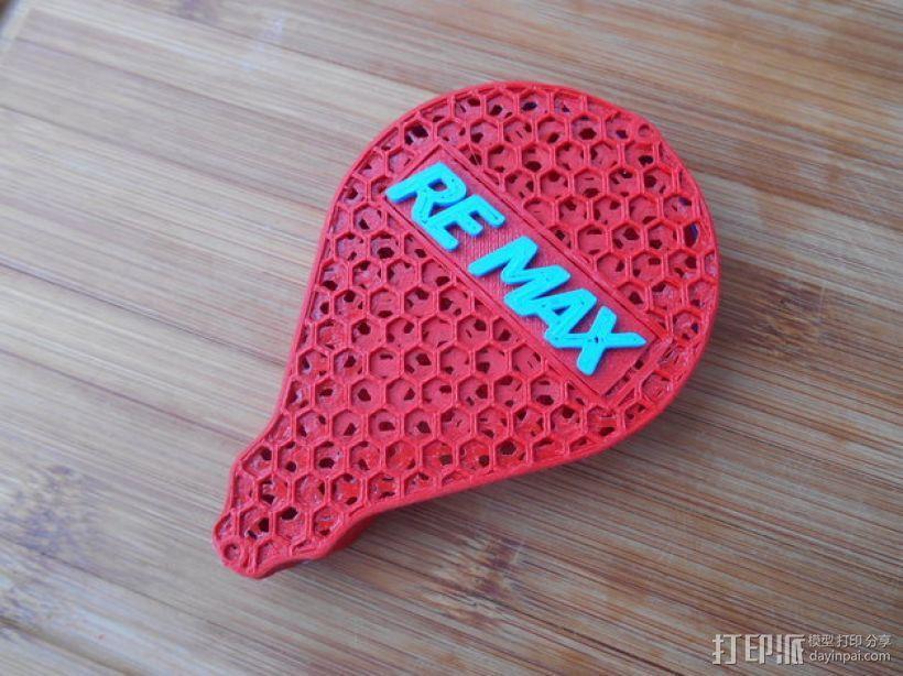 ReMax蜂巢盒子 3D模型  图1