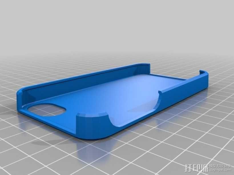 章鱼手机套 3D模型  图1