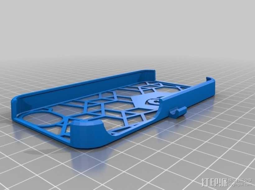 不规则图形 Iphone 手机套 3D模型  图1