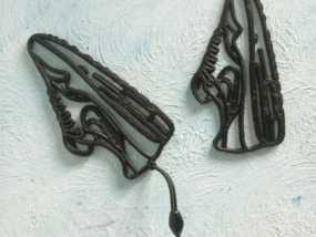 Nike Air Max 鞋子吊坠 3D模型