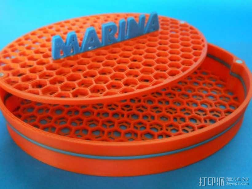 首饰盒 3D模型  图1