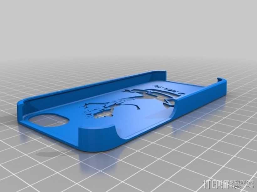 树精格鲁特 手机套 3D模型  图1