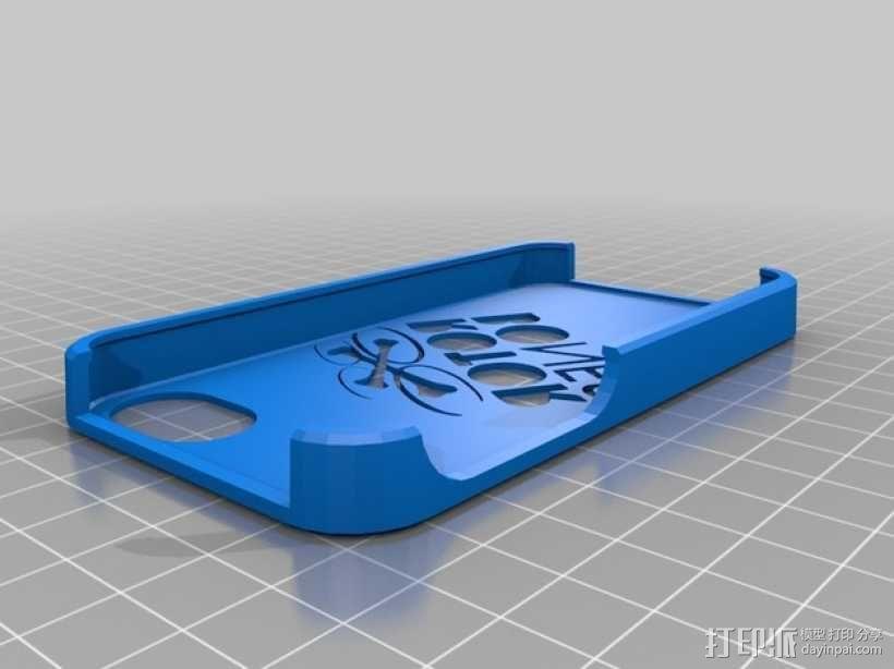 Rotor Bones 4S手机套 3D模型  图1