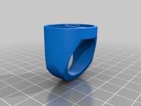 白羊座 指环 3D模型