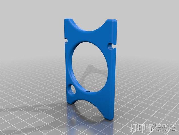 耳机收纳架 3D模型  图2