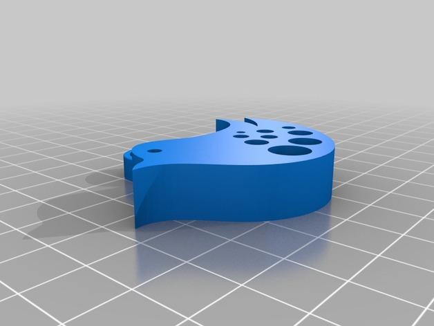 鸟挂件 3D模型  图2