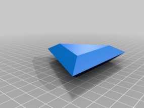 三角形宝石  3D模型