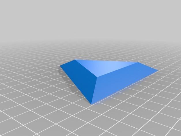 三角形宝石  3D模型  图2