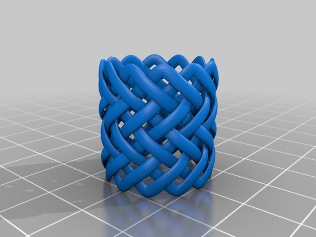 可爱到爆的环戒 -大小9/12 3D模型  图2