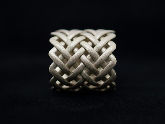 可爱到爆的环戒 -大小9/12 3D模型  图4