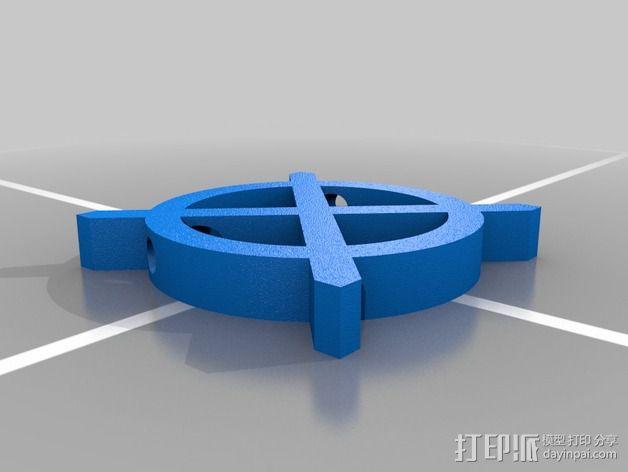 算子符号 3D模型  图4