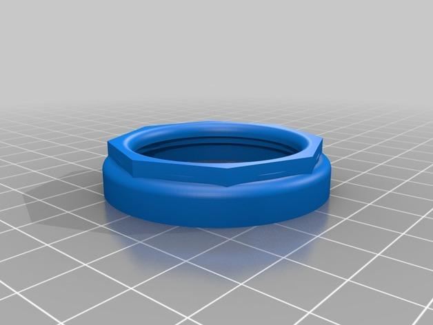 单片眼镜 3D模型  图4