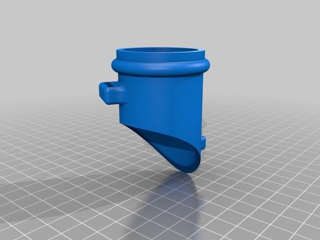 单片眼镜 3D模型  图3