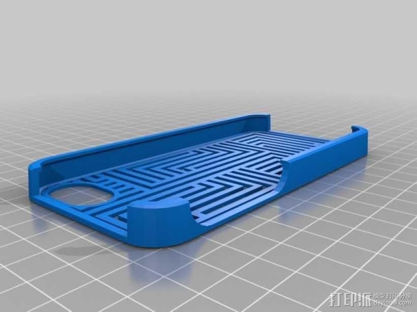 Aztec - 9 手机保护壳 3D模型  图1