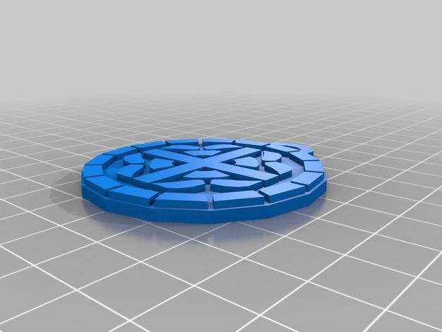 护身符 吊坠 3D模型  图2