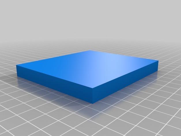 螺旋吊坠 模具 3D模型  图2