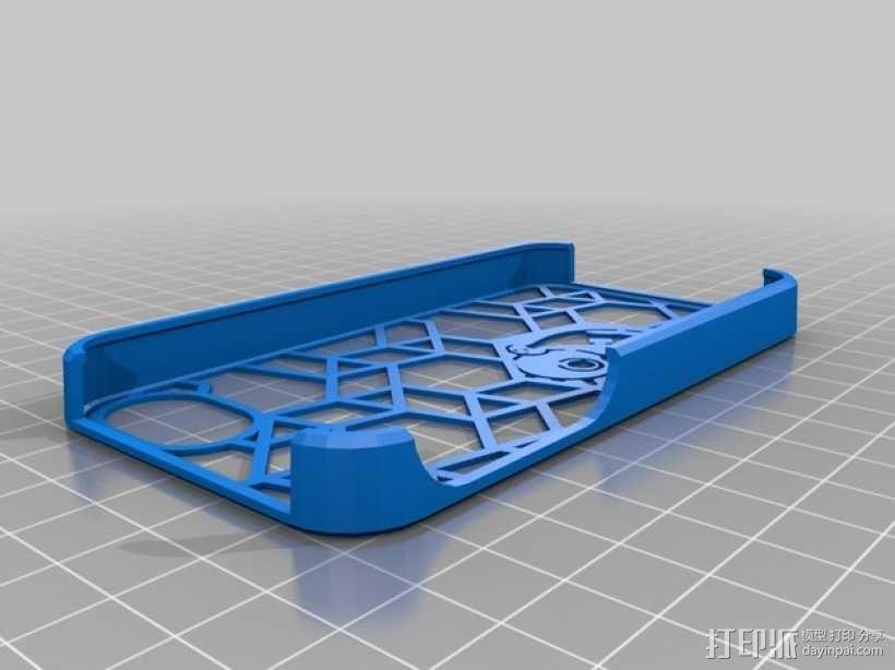 海绵宝宝 手机套 3D模型  图1
