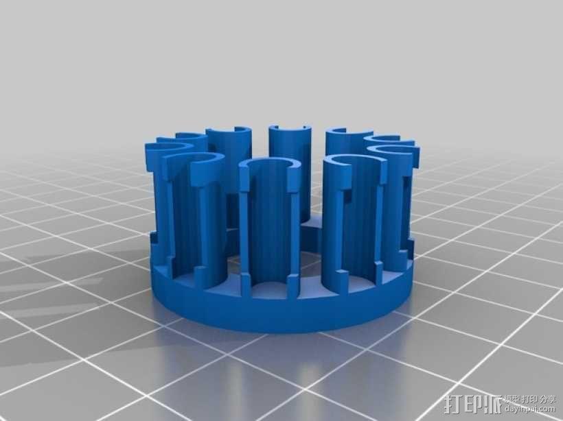 织机 3D模型  图1