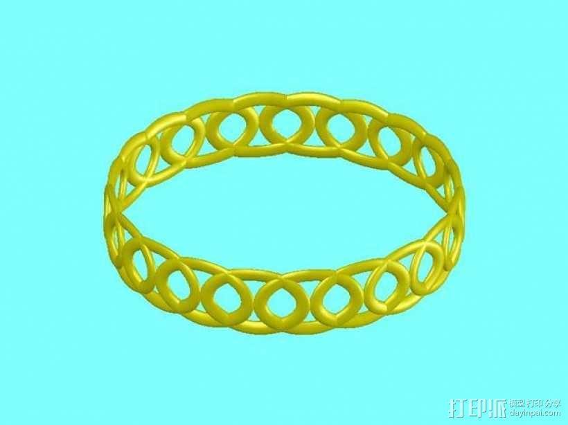 戒指 指环 3D模型  图1