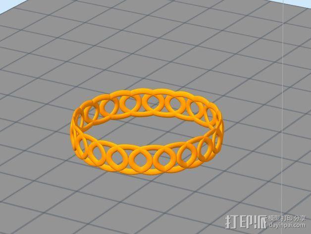 戒指 指环 3D模型  图3