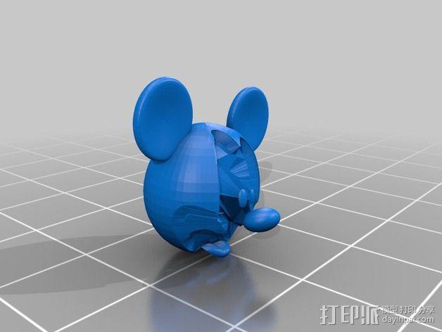 米老鼠戒指盒 3D模型  图5
