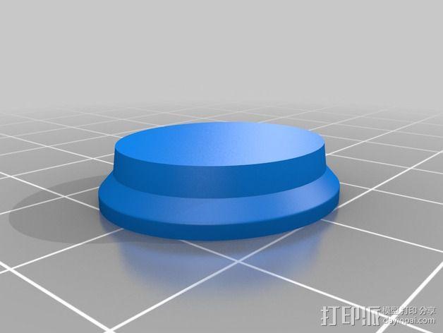 米老鼠戒指盒 3D模型  图7